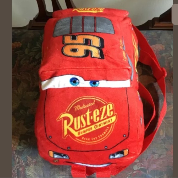 Disney Other - NWT Disney Pixar Cars Lightning McQueen Backpack